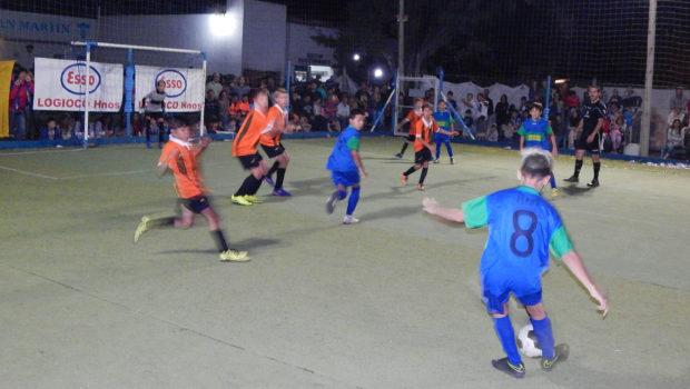 Baby futbol San Martin tambien tiene su contenid o Solidario