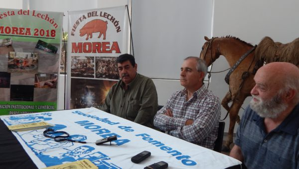 Castro, Barucco y Llambay en el MACC donde presentron oficialmente la fiesta