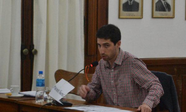 Concejal Juan Pablo Parise