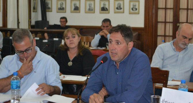 Concejales Gaston Vaira y Diego Spinetta