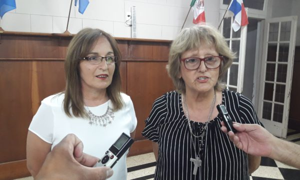 Griselda Arce y Adriana Torrelles