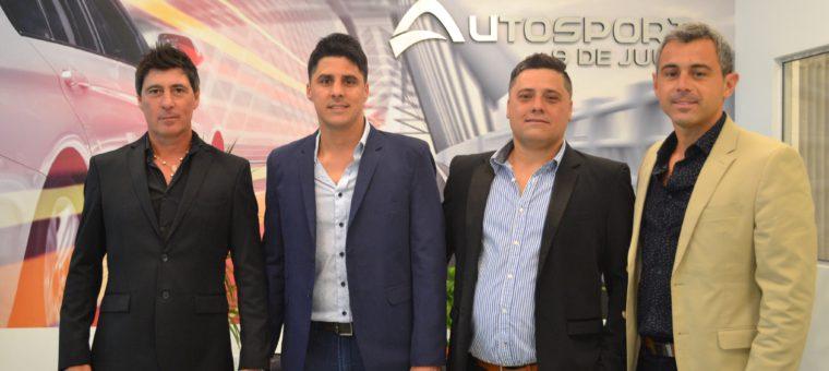 Ignacio Colotta, Luis Farias, Juan Farias y Marcelo Petetta