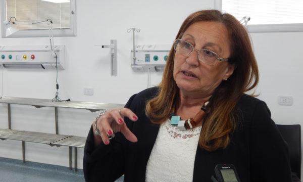 Lic Elisa Gutierrez, Directora del Hospital informo que ya recibieron llave en mano la nueva UTI