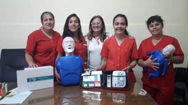Marcela Castro, Ingrid Ledesma, Elisa Gutierrez, Sandra Alvarez y Roxana Re