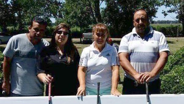Nancy Amado se ubico en el segundo lugar en su categoria el Golf Club de Bragado