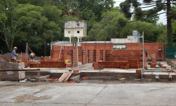 Nueva Sala de Guardia que se construye en el Hospital