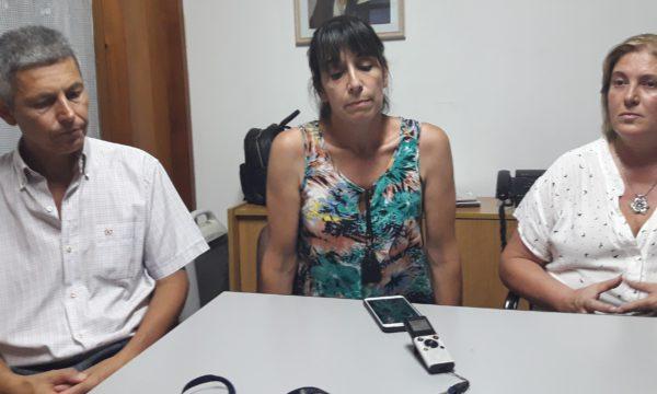 Capriroli, Buceta y Crespo integran el FpV PJ y cuestionaron la política de Cambiemos – foto El Regional Digital