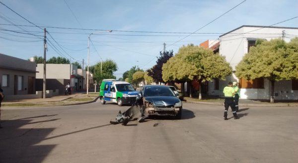 Vehiculo Citroën participante del accidente