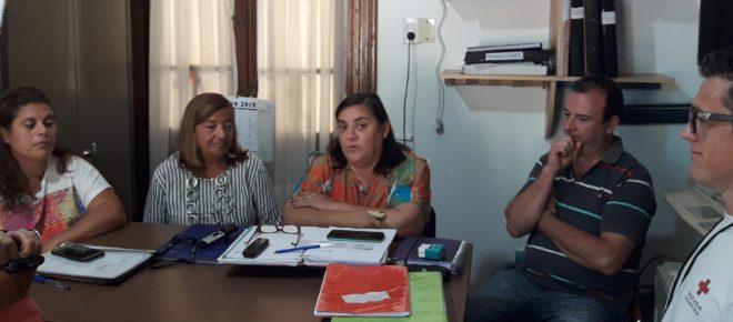 Claudia Appella junto a Cereigido, Moro, Asenjo y Van Bergen