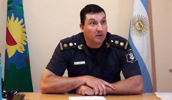 Comisario Vazquez en dialogo con El Regional Digital