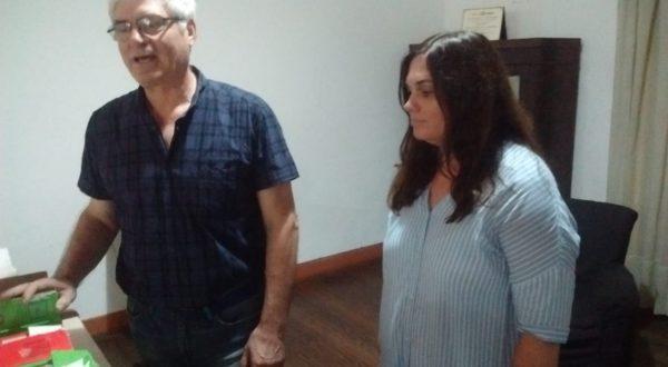 Hector Garcia y Valeria Gomez Bert