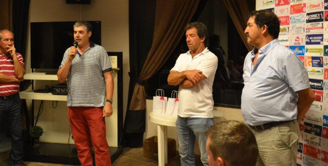 Hernan Bono dias atras durante la cena del Golf Club Atletico 9 de julio