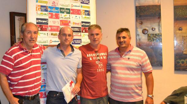 Horacio Zanetti, Agustin Otaegui, Eduardo Sopranzetti y Martin Leon, campeones en sus categorias, el Campeon del Club fue Miguel Sancholuz hijo
