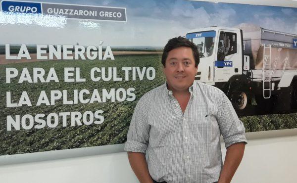 Ing Gaston Sendoya responsable Agro en YPF Directo Guazzaroni Greco