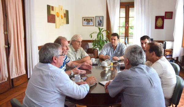 Instancia de la reunion entre el Intendente, Policia y los vecinos