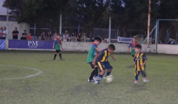 Partido de Baby Futbol en San Martin