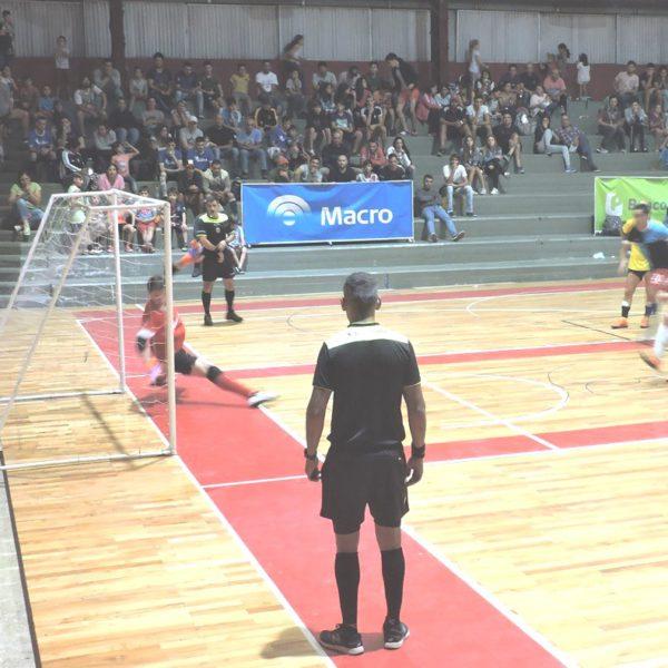 Partido de Futsal disputado el viernes 18