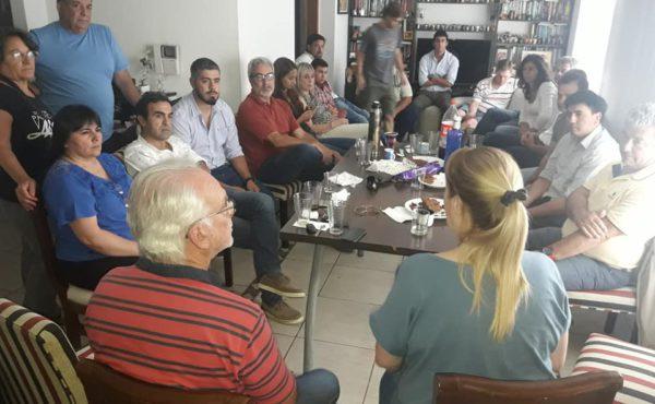 Stolbizer recibio a dirigentes del GEN en su casa de Castelar