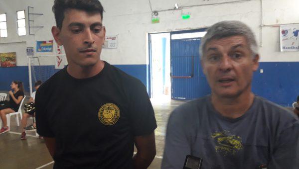 Walter Daffara y Ezequiel Aguilar