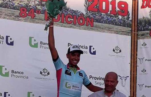 Agustin Martinez campeon de la sub 23, liderazgo que alcanzo recien en la 7ma etapa