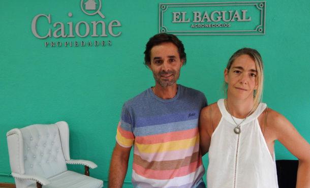 Emprendedores. Julian Mugarza y Maia Caione proponen amplios y variados servicios