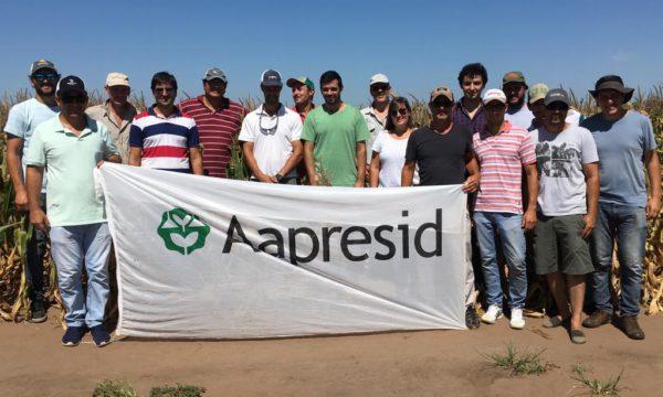 Integrantes de la Regional Aapresid 9 de Julio – Carlos Casares