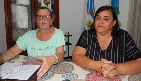 Liliana Vallabriga y Claudia Appella detallaron aspectos de la reunion sobre eduacion con la Gobernadora Vidal