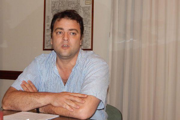 Mariano Barroso adelanto que se utilizaran carteles con la leyenda en infraccion – foto archivo