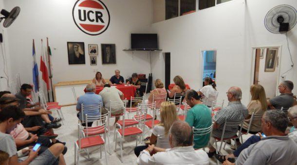 Plenario de UCR 9 de Julio