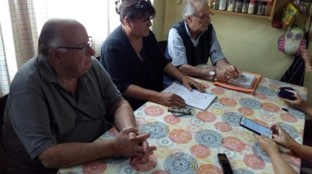 Poggi, Castagnino y Malondra brindaron declaraciones a la prensa local