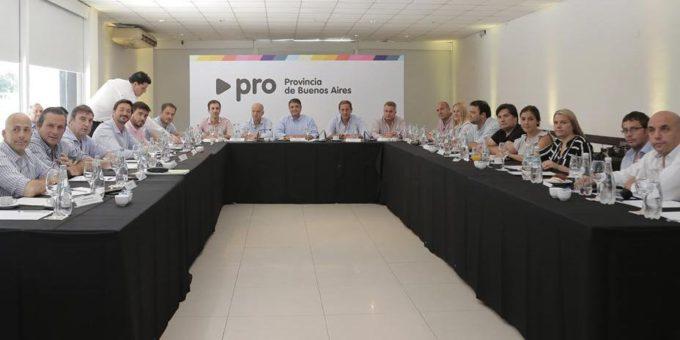Runion en Vicente Lopez por parte de intendente y legisladores PRO