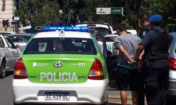 Uno de los delincuentes detenidos por Policia de Junin – foto Diario Democracia