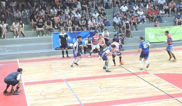 Uno de los partidos jugado en semifinal
