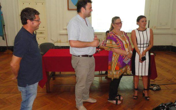 Vivani, Barroso, Vallabriga y Castro durante el ultimo jueves
