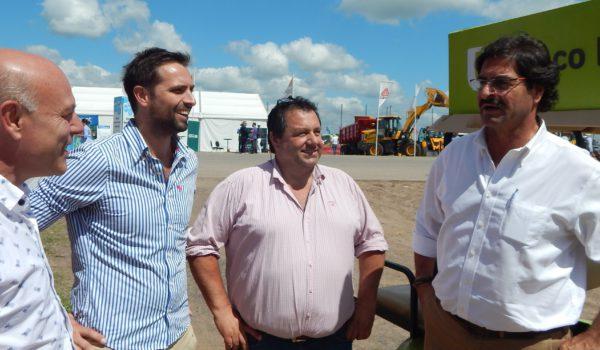 Delgado, Forte y Merlo en dialogo con el Ministro Sarquis