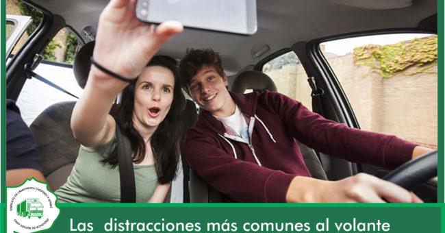 Distraciones al volante