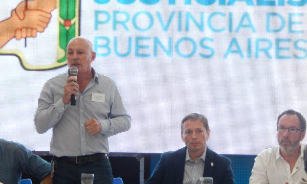 Horacio Delgado, presidente del PJ nuevejuliense