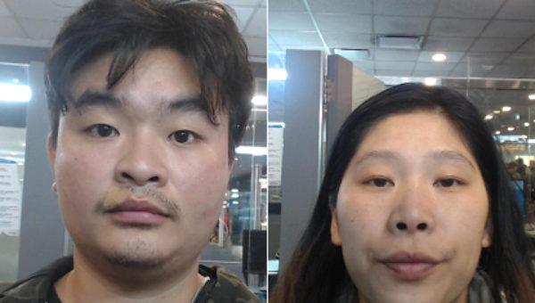 La pareja de ciudadanos chinos implicados en el triple homicidio de Junin – foto Semanario Junin