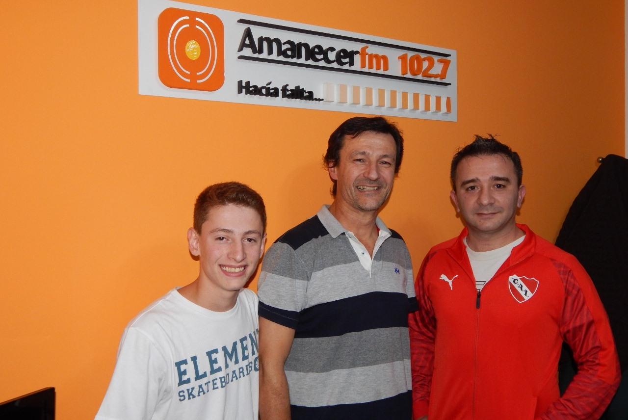 """11 años, 500 programas y la pasión por el """"Rojo de Avellaneda"""""""