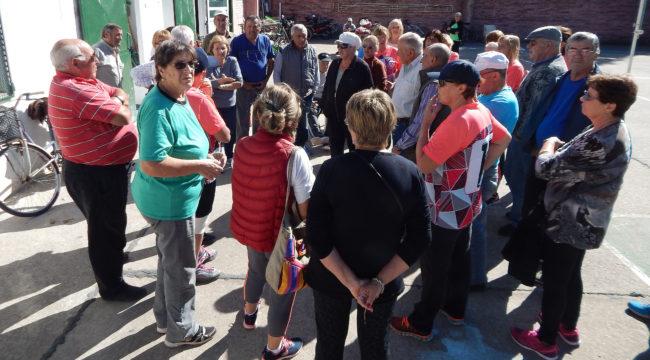 Abuelos y socios del Tejo preocupados por la posible desicion municipal
