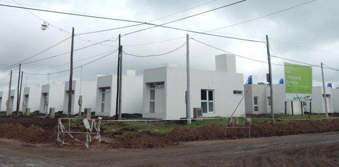 Barrio donde se construyo el complejo de viviendas