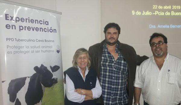 Bernardelli, Crespo y Campos dialogaron con El Regional Digital