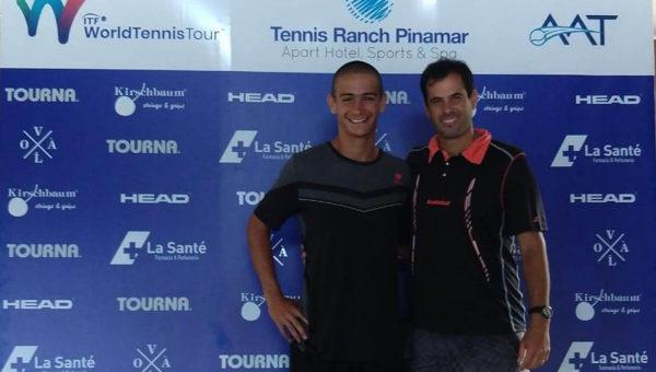 Campeón en el Prequaly ITF Pinamar