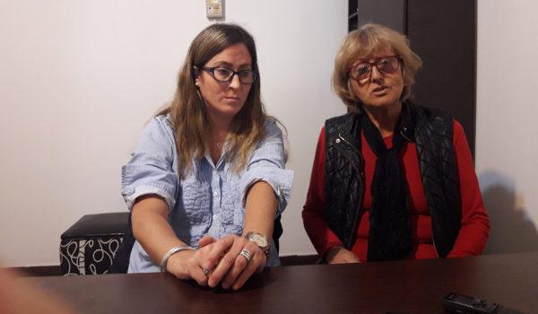 Cecilia Maestruti y Griselda Arce de UPCN informaron sobre el logro para los empleados municipales