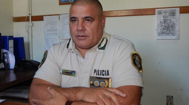 Comisario Mayor Raul Coronel, Jefe de la Coordinacion de CPR con asiento en Chivilcoy