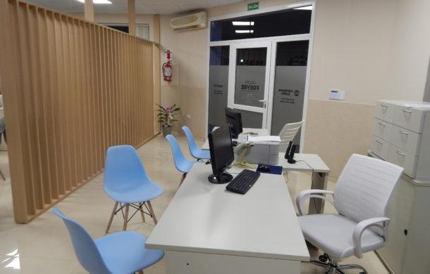 Comodas y amplias oficinas del Grupo Freyre