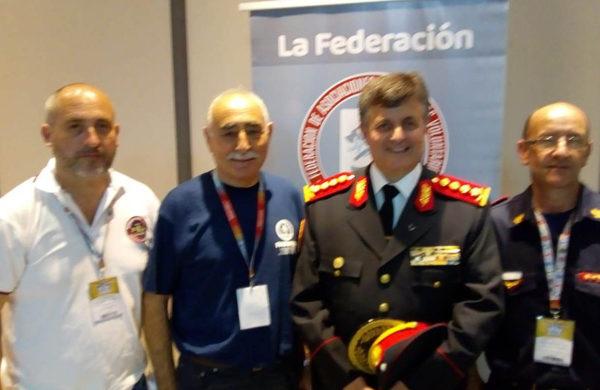 Del Castillo, Appella, Fernandez y el Jefe de la Federacion bonaerense, Osvaldo Lori