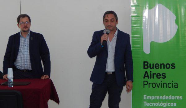Jorge Czajkowski y Mauricio Mandaglio