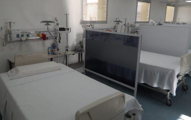 La UTI cuenta con cinco camas, una de ellas para aislamiento y dos para personas con obesidad