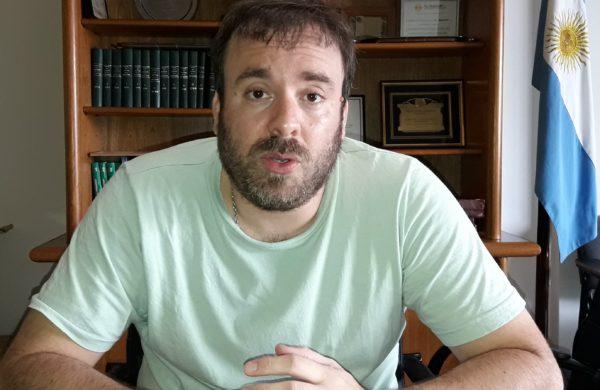Matias Losinno informo que el balance es positivo con 32 millones de superavit